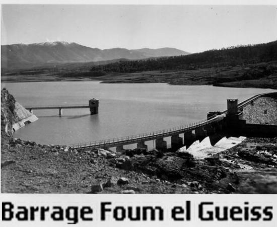 1959 - Barrage Foum El Gueiss