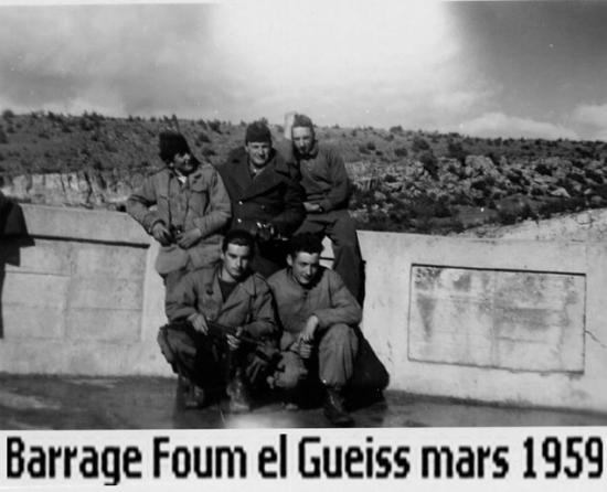 1959 - Barrage Foum El Gueiss 2