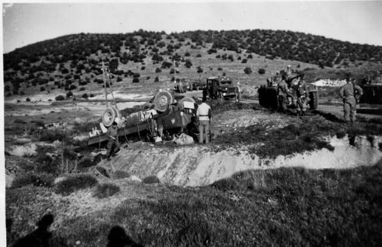 1959 - Camion simca retourné