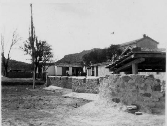 1959 - Ferme martin - Bt. 3ème section & foyer au fond