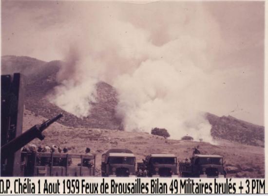 1959 - Opération - Au Chélia