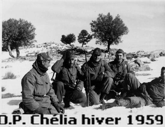 1959 - Opération - Chélia 3