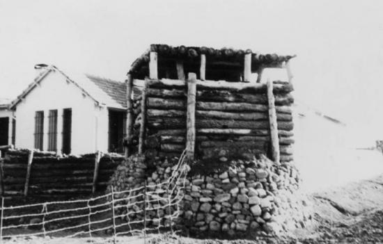1960 - Aïn Mimoun - Poste de garde