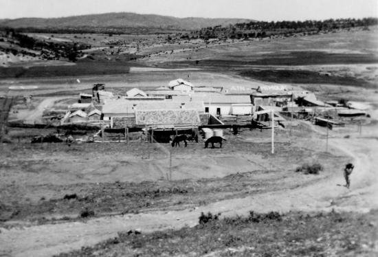 1960 - Aïn Mimoun - Vue du poste de la tour Isabelle
