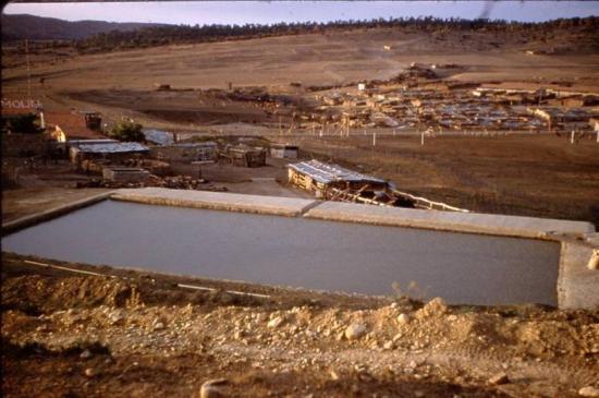 1960 - AïnMimoun - La piscine