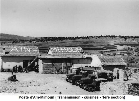 Aïn-Mimoun - 3 - Vue d'ensemble du bas du poste