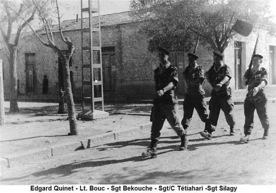 Aïn-Mimoun - 4 - Prise d'armes à Edgard Quinet