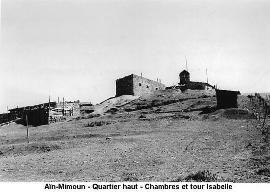 Aïn-Mimoun - 5- Aperçu du poste - Quartier Isabelle