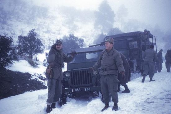 Capitaine GIRARD et Sgt/C Lazslo SGYLAGY