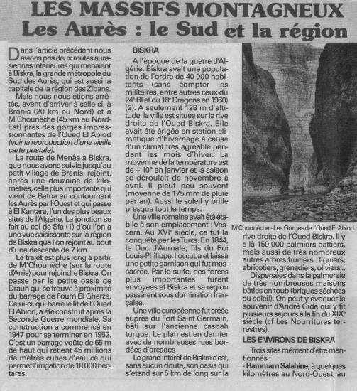 Massif montagneux des Aurès 5-6