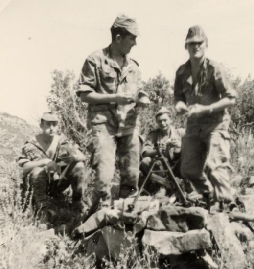 Groupe de feu - Le 24/29 en batterie
