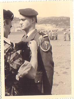 S-Lt. MESLIN - Remise Croix valeur Militaire