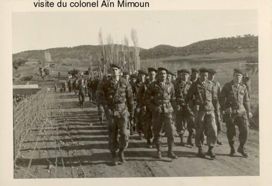 S-Lt MESLIN & Sgt.Aymard - 3ème section Harkis