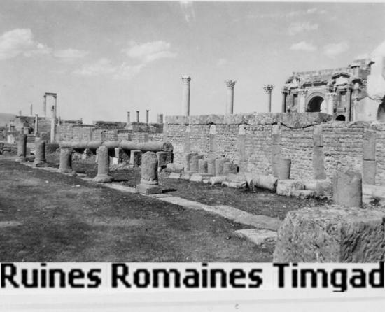 Timgad - Ruines romaines